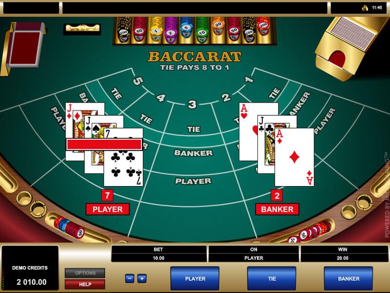 Alles, was Sie zum Baccarat online spielen wissen müssen